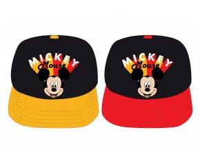 Kšiltovka Mickey Mouse | MFB 52 39 8271 | Červeno-černá / žluto-černá