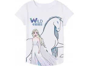 Tričko Frozen | 52 02 8743 II | Bílé