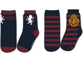 Ponožky Harry Potter | 53 34 201 SINGLE | Modré / multicolor
