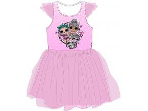Šaty LOL | 52 23 069 TIUL | Růžové