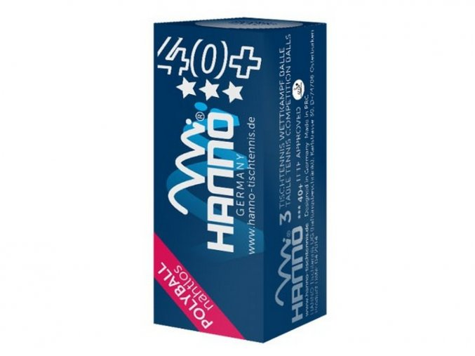 Hanno - míčky *** 40+ Polyball 3