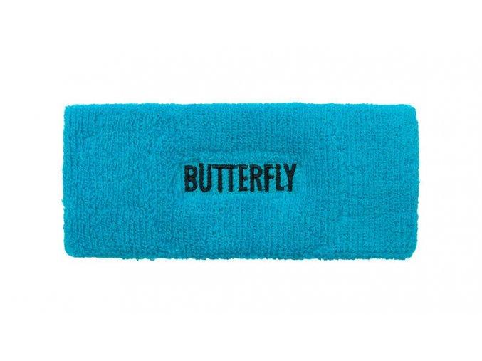 Butterfly headband STREAK blue