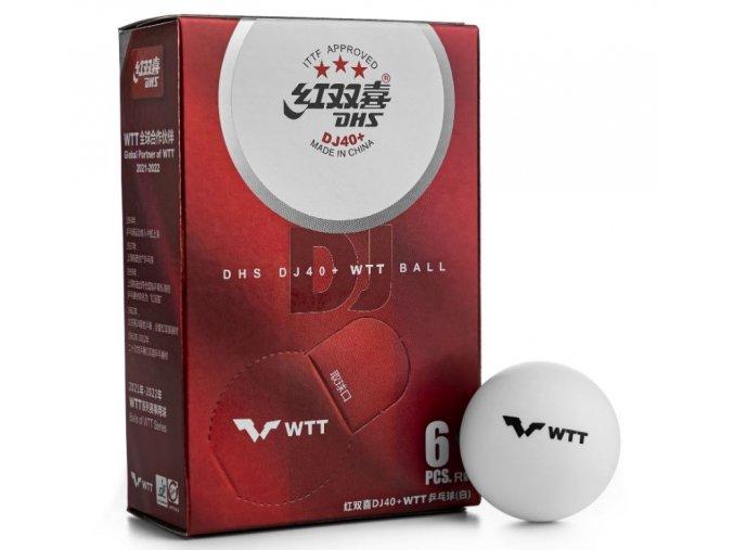 dhs dj40 3 tokyo ittf 6 balls seam 15897