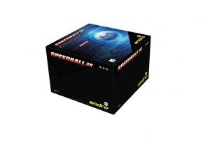 Andro - míčky Speedball 3S 40+ *** 72 ks