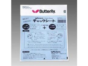 Butterfly - Chack sheet - lepící fólie