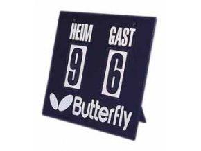 Butterfly - ukazatel stavu utkání