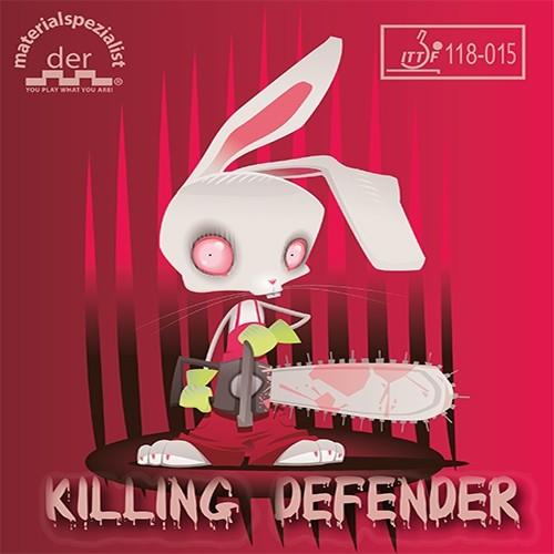 Der Materialspezialist - Killing Defender Barva: Červená, Tloušťka houby: 1,0