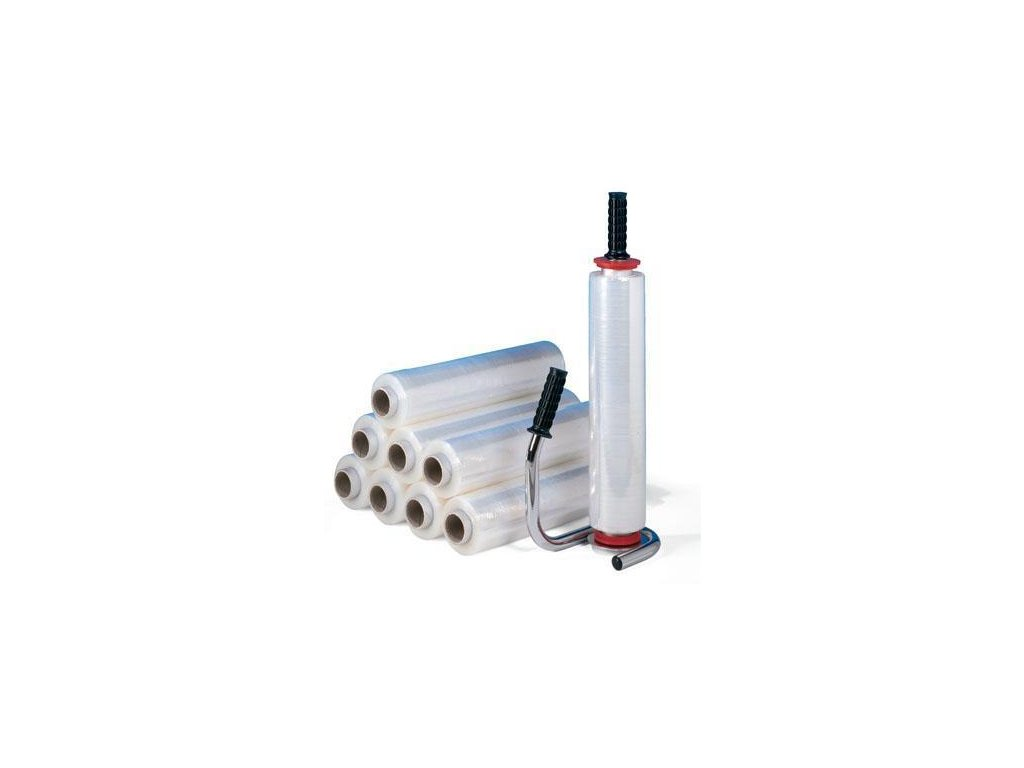 Ruční stretch fólie 500mm / 17 my / 2.2 kg