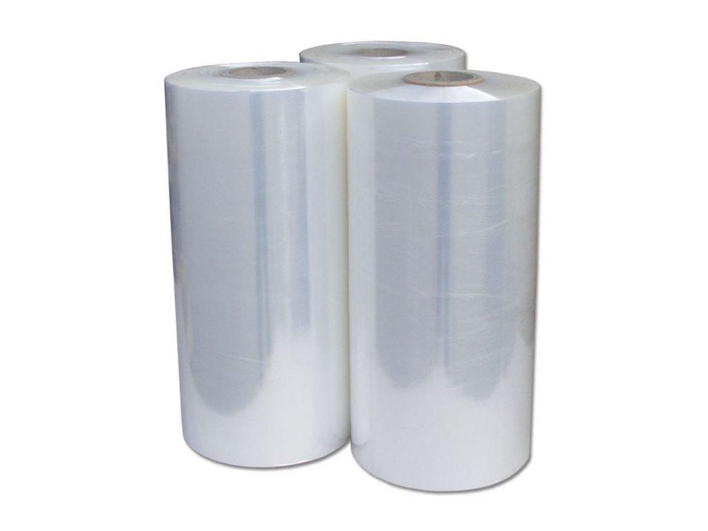 Strojní stretch fólie transparentní 500mm / 17 my / 150 - 180%