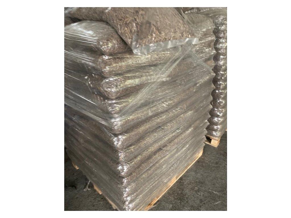 Pytel 500x750 mm, LDPE NA DŘEVĚNÉ BRIKETY / 100 ks