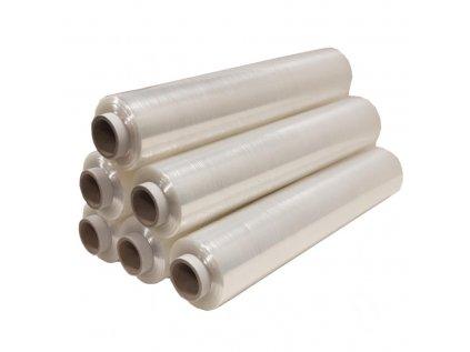 Clear Pallet Wrap standard cores 800x800