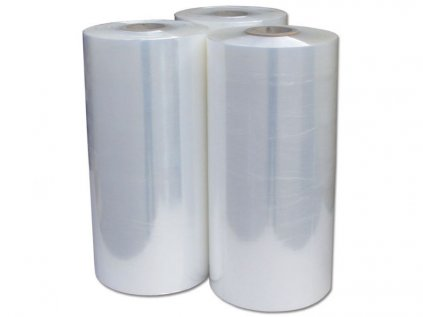 Strojní stretch fólie transparentní 500mm / 23 my / 150 - 180%