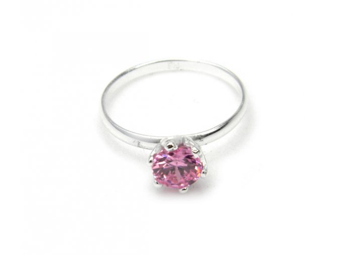 Prsten strieborný