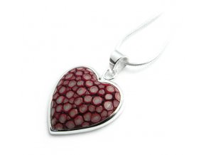 Prívesok strieborný srdce