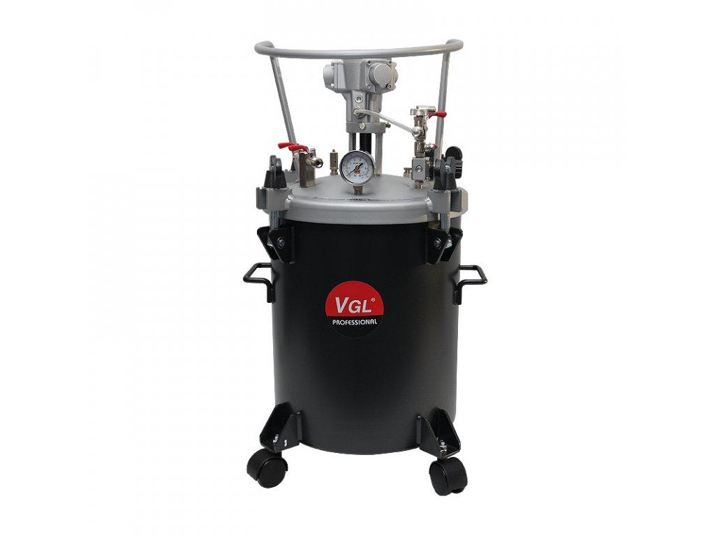 2381 1 tlakovy zasobnik 40 l s pneumatickym michadlem