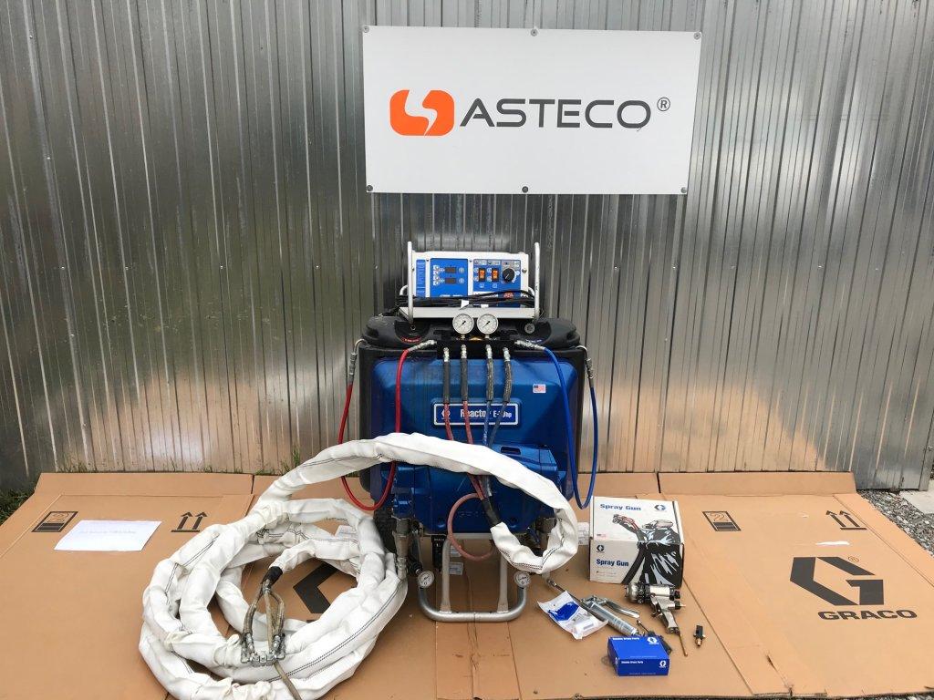 Stříkací systém GRACO REACTOR E-10hp pro stříkání PUR pěn - po repasi