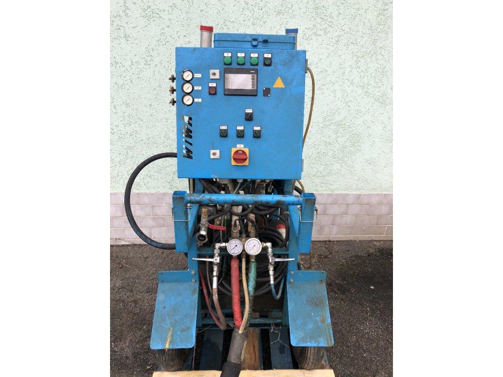 Stříkací systém WIWA DUOMIX PU 460 pro polyureu a PUR pěnu - použitý