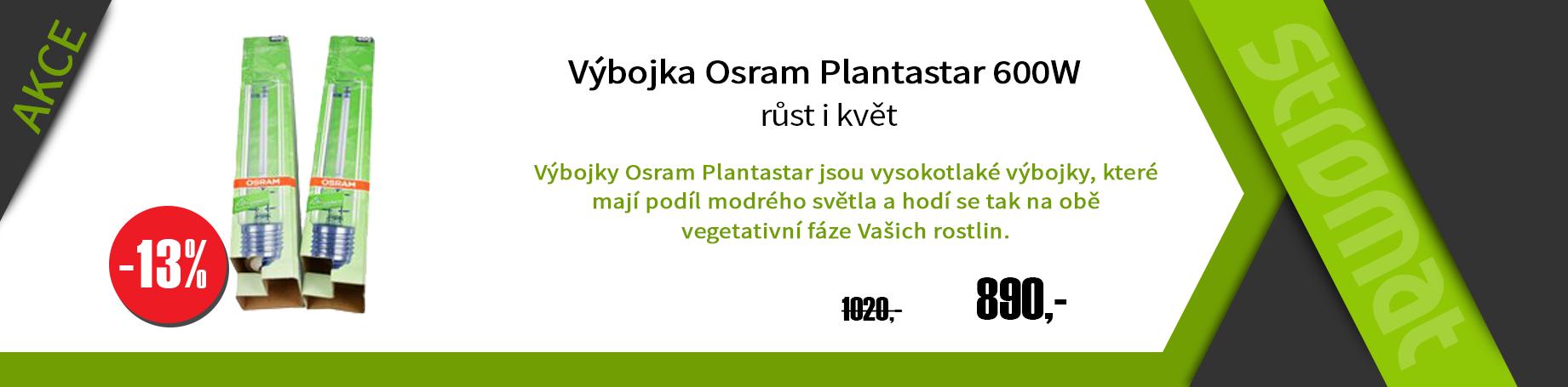 Výbojka 600 w kombinovaná - osram plantastar na růst i květ
