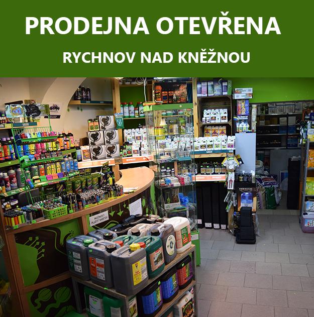 Prodejna otevřena