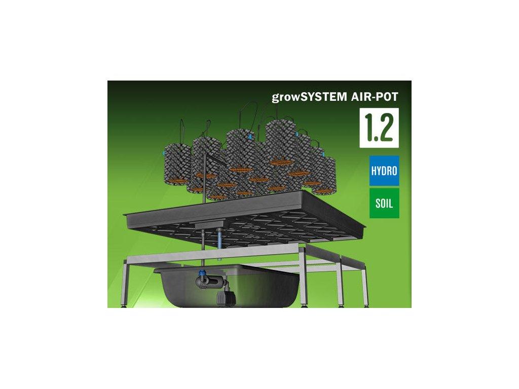 Grow System AIRPOT 1.2 (75 Liter tank)