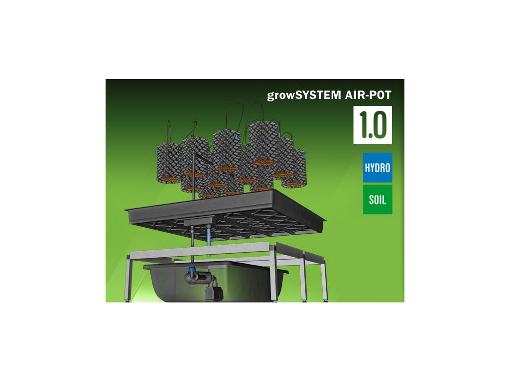 Grow System AIRPOT 1.0 (75 Liter tank)
