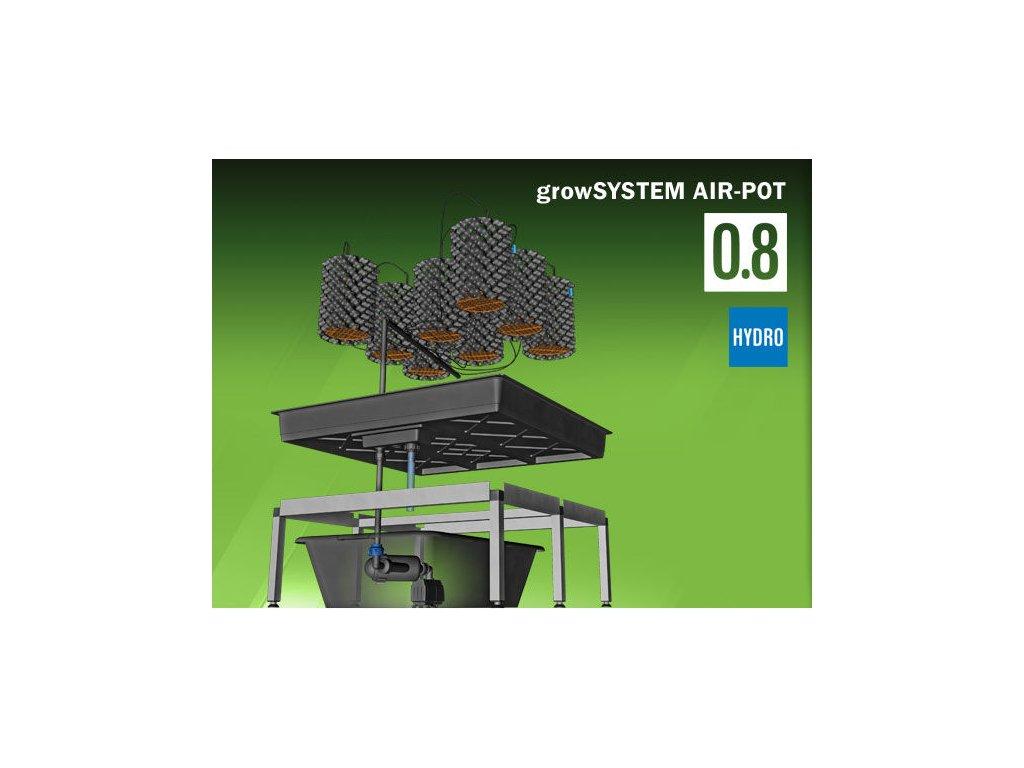 Grow System AIRPOT 0.8 (75 Liter tank)