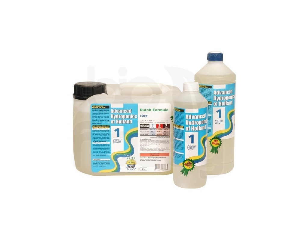 HNOJIVO Advanced Hydroponics Dutch formula GROW 5l