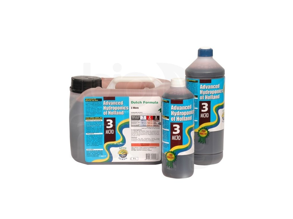HNOJIVO Advanced Hydroponics Dutch formula MICRO 5l