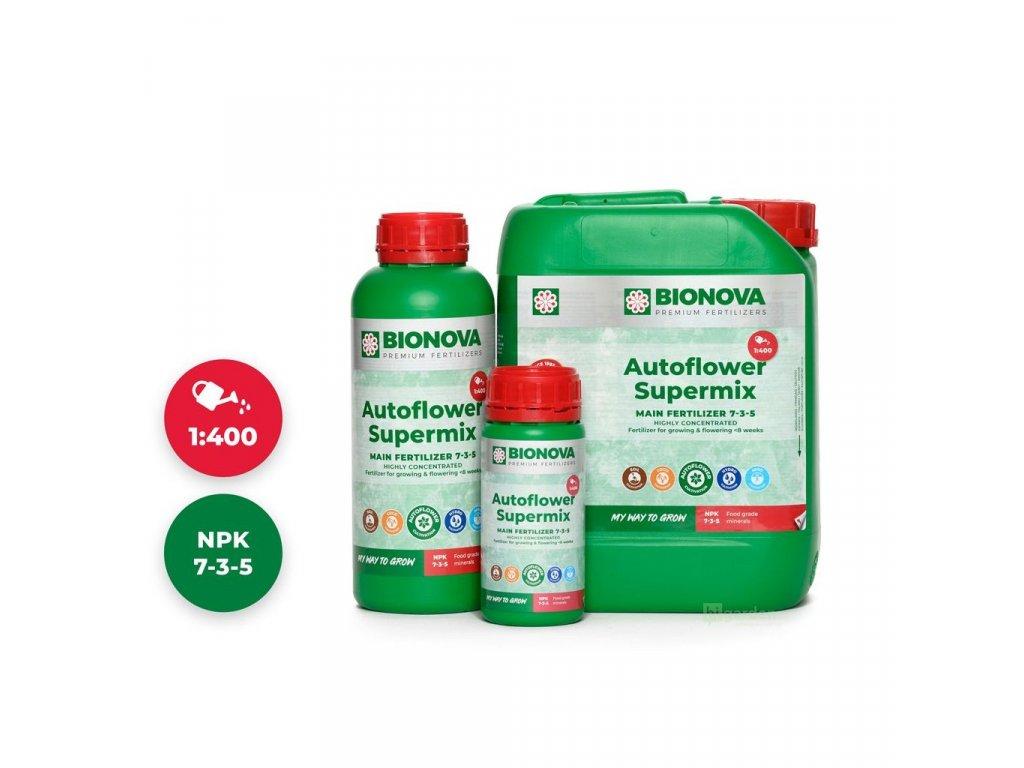 Hnojivo Bio Nova AutoFlowering Supermix 250 ml