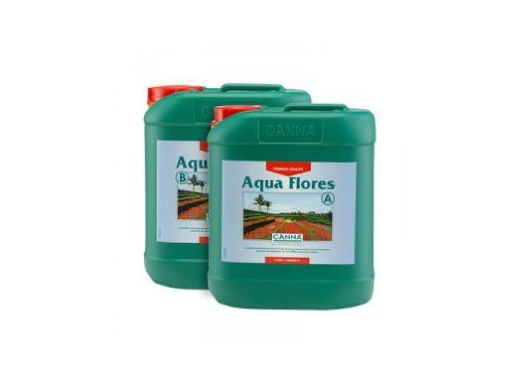 Hnojivo Canna Aqua Flores A+B 10l