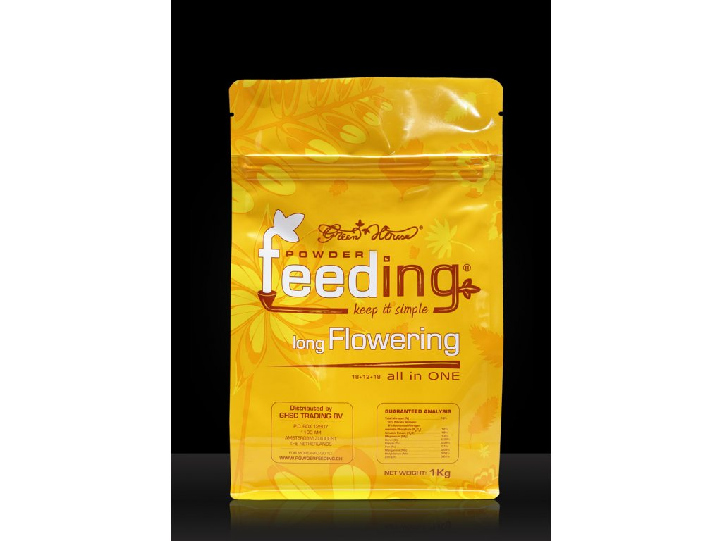 Hnojivo Powder Feeding Long Flowering 1kg