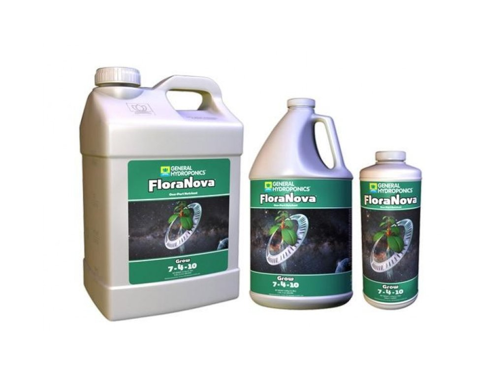 Hnojivo General Hydroponics FloraNova Grow 473ml