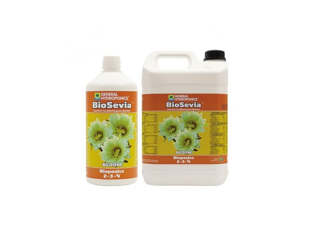 Hnojivo General Hydroponics BioSevia Bloom 0,5l