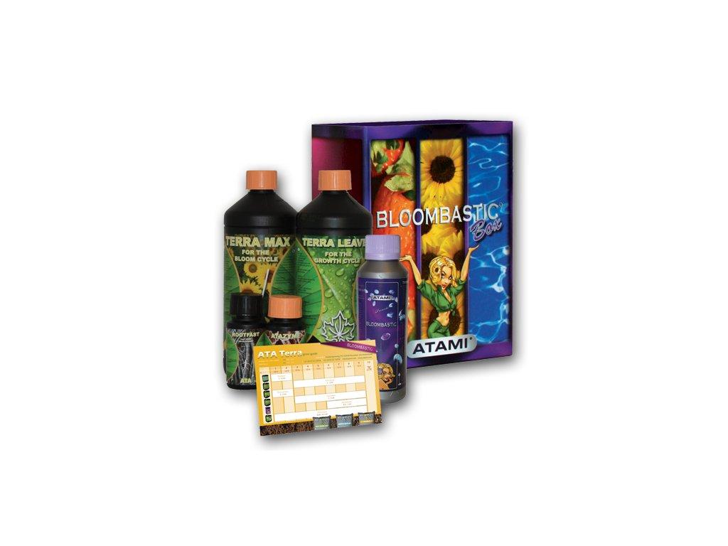 Kompletní sada hnojiv ATAMI ATA Terra Bloombastic 1 box