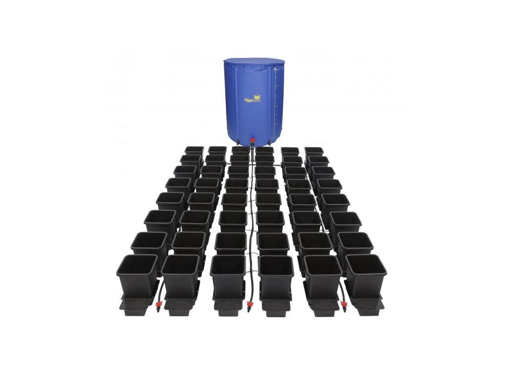 1Pot System, 48květníků, 16 mm rozvod včetně 400l Flexitank
