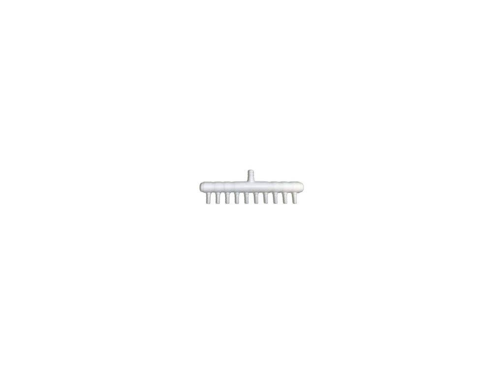 10x manifold (rozdělovač) pro vzduchové hadičky 4mm
