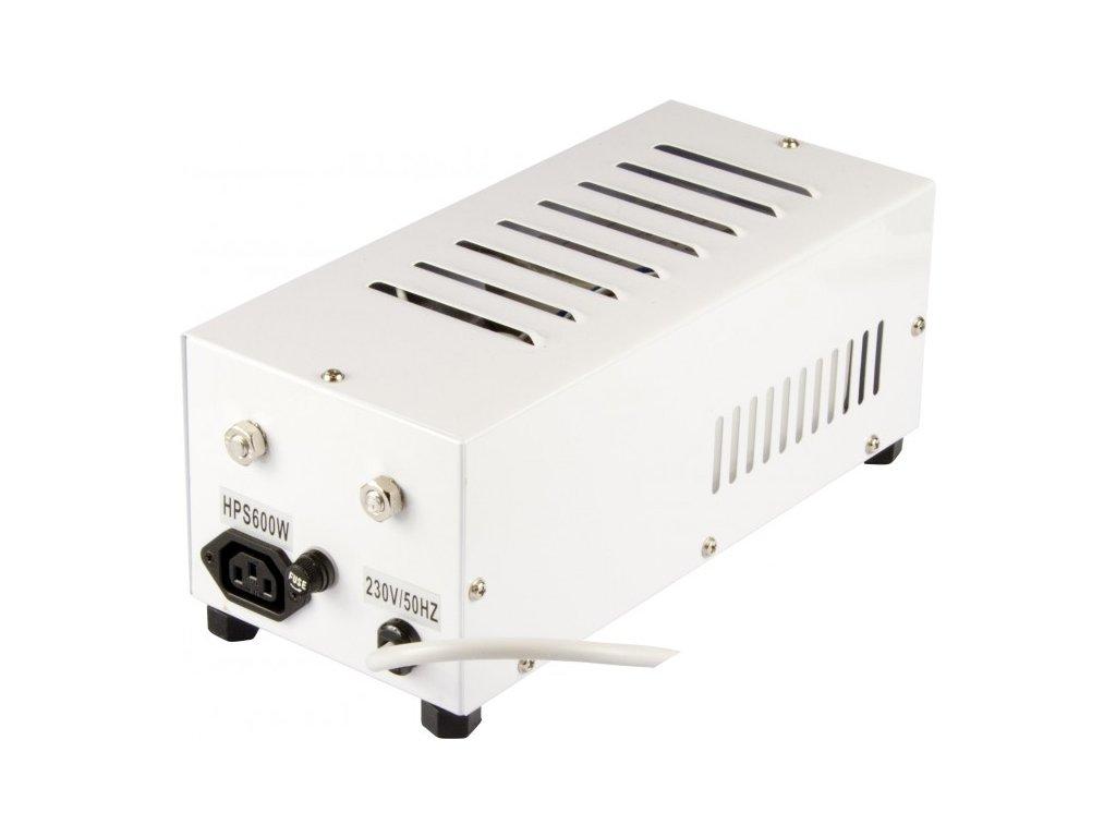 Magnetický předřadník zaboxovaný 400W, HPS i MH, ocelový box, vč. kabelu