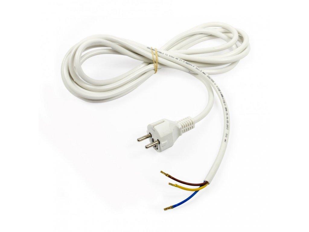 Kabel 3*1,5mm,délka 3m s EURO koncovkou
