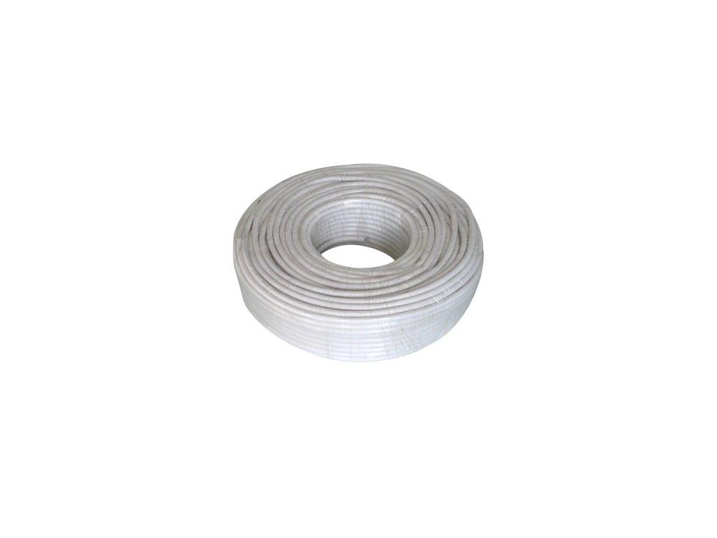 Kabel 3*2,5mm, bílý, 1m