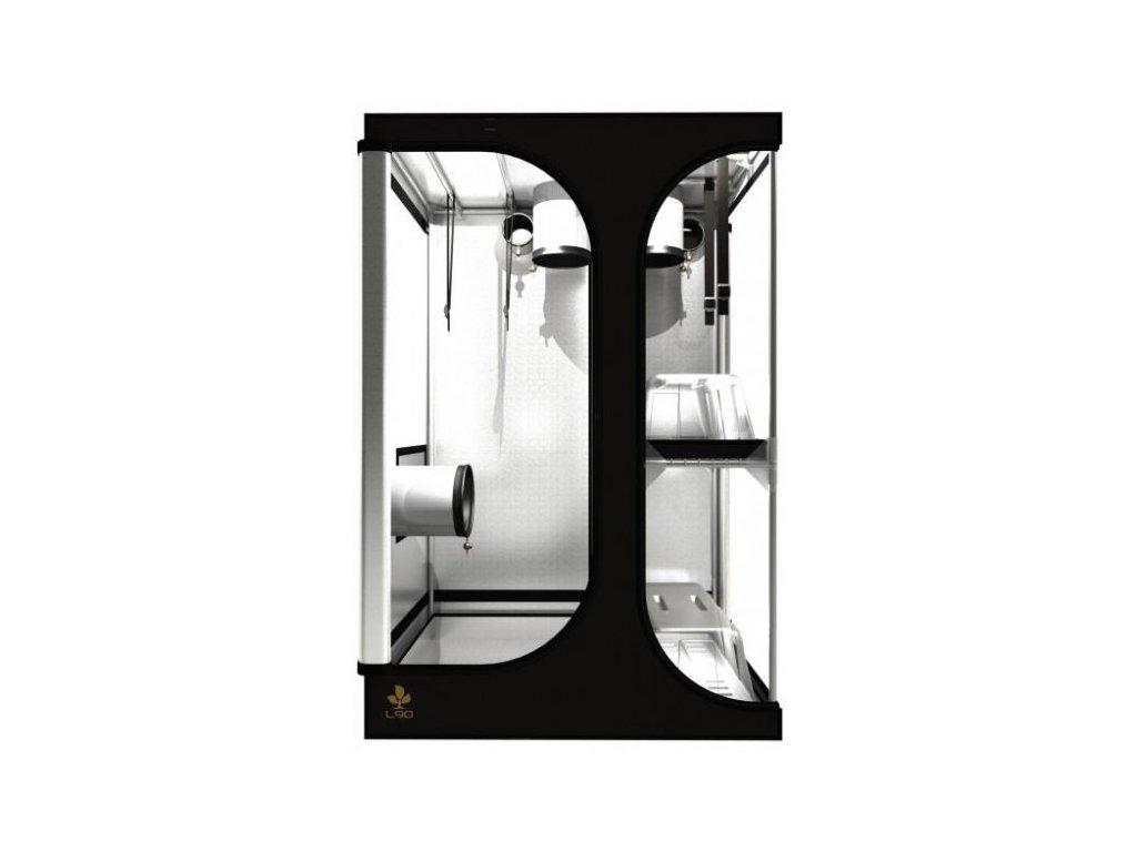 Pěstební box Dark Room LODGE L90 Rev 2,5 - 90x60x135cm