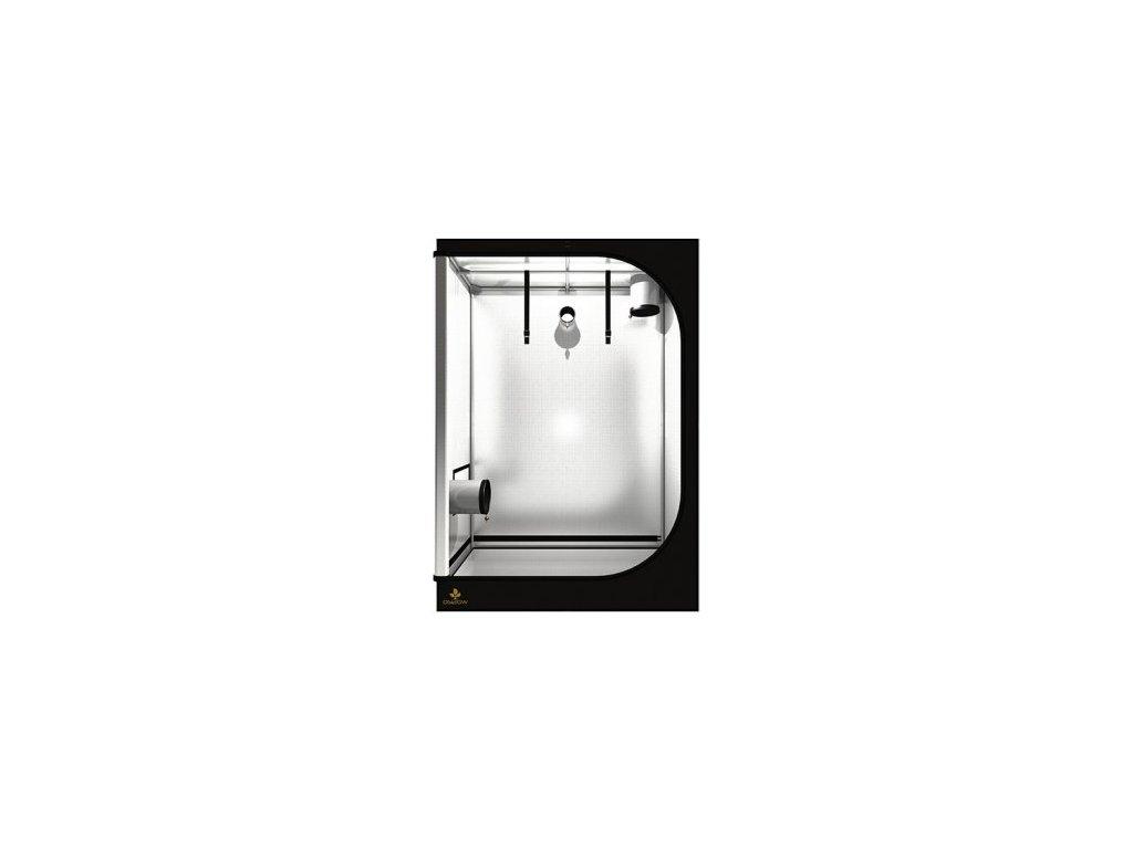 Pěstební box Dark Street 120 WIDE - 120x60x170cm