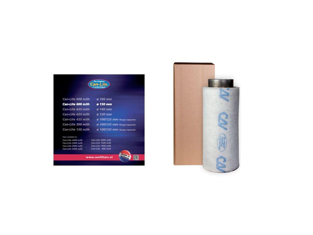 Pachový Filtr Can-Lite 600m3/h, 160mm