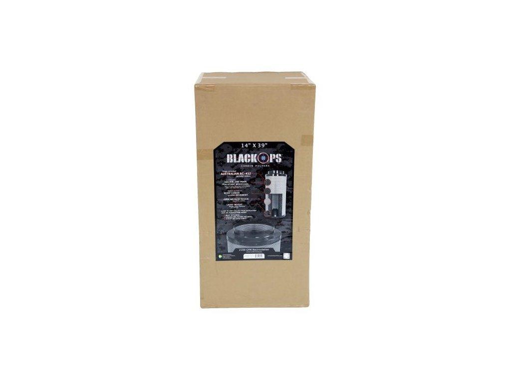 Pachový filtr Black Ops 1445 PRO, 60cm, 1445m3/hod, 250mm