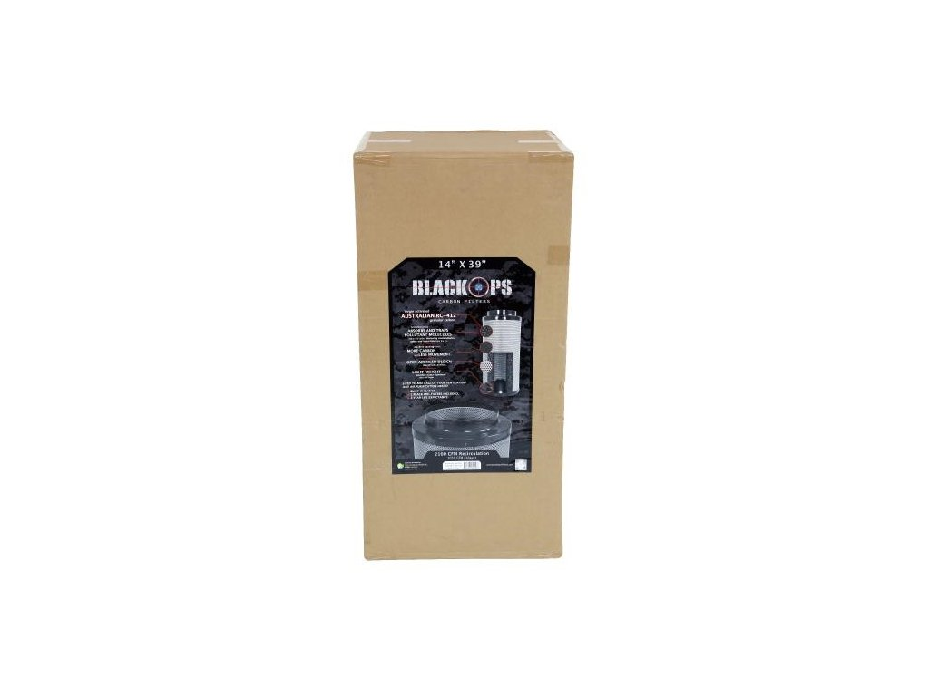 Pachový filtr Black Ops 2380 PRO, 100cm, 2380m3/hod, 250mm