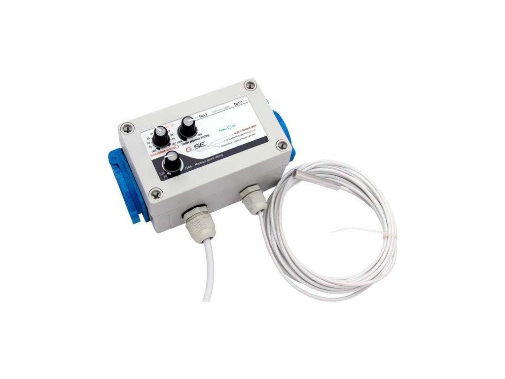 Regulátor teploty a podtlaku (aktivní přítah) GSE