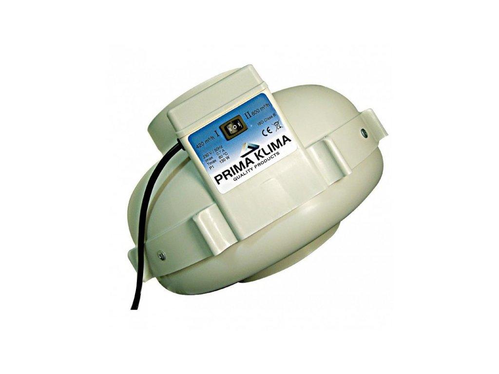 Ventilátor PRIMA KLIMA 2 rychlostní 420/800 160mm
