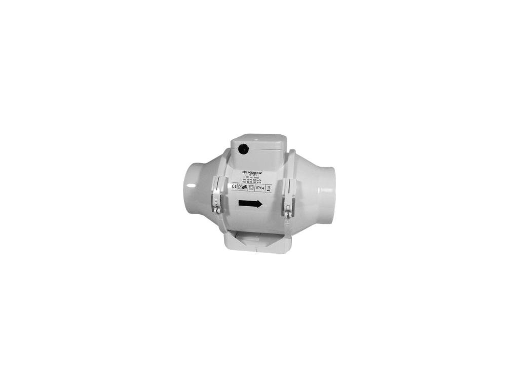 Ventilátor TTU 100mm, 187m3/h s regulací