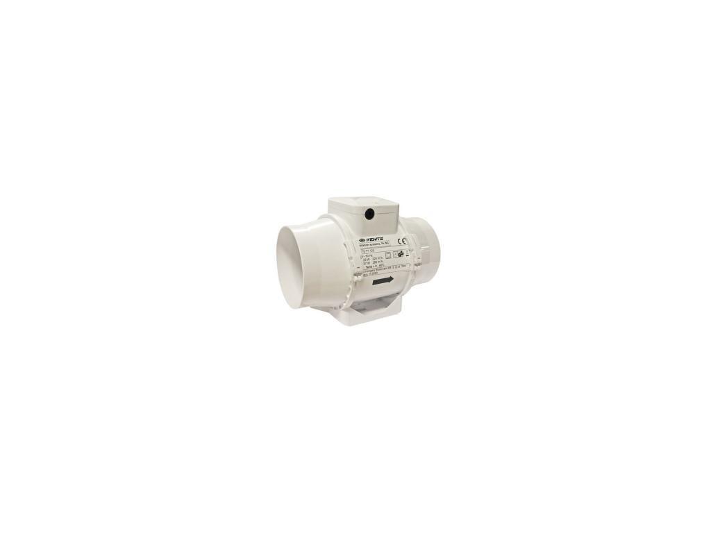 Ventilátor TT 125mm, 345m2, silnější motor s regulací