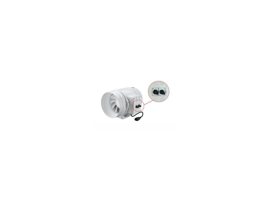 Ventilátor TT 250mm, 1400m2/h s regulací