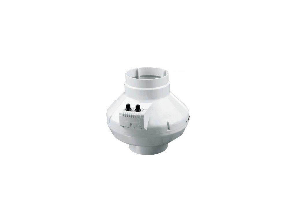 Ventilátor VK 100mm U, 250m3/h s regulací otáček a termostatem